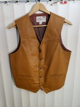 Men's Leather Vest in Yucca Valley, California