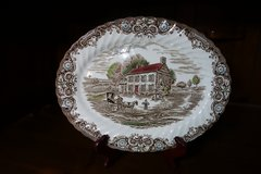 12 Place Setting Heritage Hall Dishes by Johnson Brothers Plus Serving Dishes in Baytown, Texas