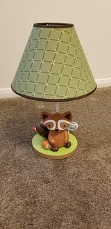 Forest Critter Lamp in Fort Irwin, California