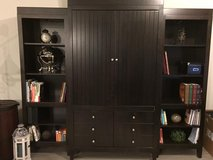 TV Entertainment Center Armoire Cabinet & Bookshelves in Baytown, Texas