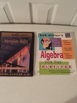 2 Learn Algebra Books  1 w/Disc in Eglin AFB, Florida