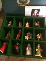 Franklin Mint Santa Ornaments in Bartlett, Illinois