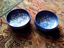 FLOWER-PAINTED HANDMADE SOUP BOWLS in Orland Park, Illinois