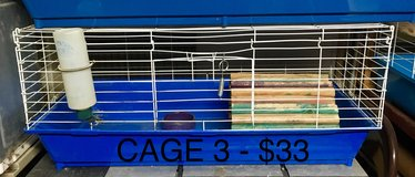 Used Small Animal Cages (Guinea Pig / Rabbit / Chinchilla / Hamster) for Sale in Chicago, Illinois