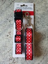 NEW Dog collar/leash set in Naperville, Illinois