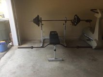 Weight Bench and weights in Fort Rucker, Alabama