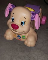 Fisher-Price Laugh & Learn Stride-to-Ride Pink Puppy in Chicago, Illinois
