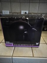 MOTORCYCLE HELMET SIZE MED NEW in Cleveland, Texas