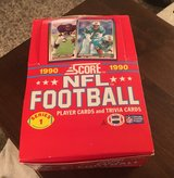 1990 NFL Player & Trivia Cards in Chicago, Illinois