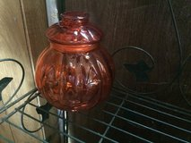 Jack-o-Lantern jar in Fort Campbell, Kentucky