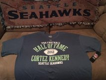 "*~* CORTEZ KENNEDY  ""HALL of FAME"" Team Apparel T-Shirt (Adult Large & XL) *~* NEW *~* in Fort Lewis, Washington"