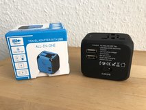 Travel Plug Adapter + USB charger in Stuttgart, GE