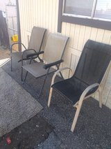 Patio chairs Lot in Yucca Valley, California
