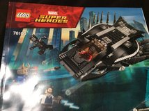 Black panther lego with figure and instructions in Okinawa, Japan