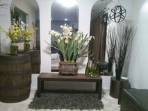 Faux White plant - large in Orland Park, Illinois