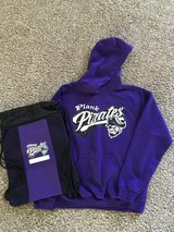 Plank Jr. High Hoodie &  Backpack in Yorkville, Illinois