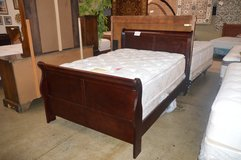 Full Sleigh Bed Frame in Tacoma, Washington