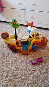 Fisher-Price Little People Pirate Ship in Lockport, Illinois