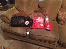 St Louis Cards Bag,warm up jersey and Hat in Fort Leonard Wood, Missouri