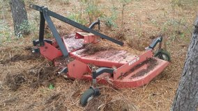 Bush hog finishing mower in Byron, Georgia