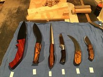 Custom made knives - must sell! Lot 1 in Naperville, Illinois