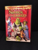 Shrek the third DVD in Cherry Point, North Carolina