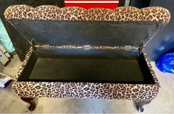 Leopard Bench with Storage in Plainfield, Illinois