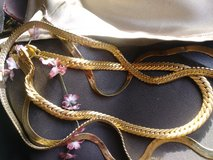 3 gold tone chains in Yucca Valley, California