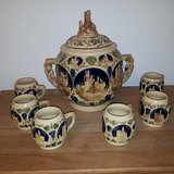Antique Bowle/Rum Pot Set in Ramstein, Germany