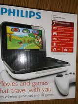 Philips portable DVD Player (never used) in Plainfield, Illinois