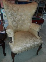 Vintage Wing Back Chair in Orland Park, Illinois