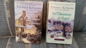 A CHRISTMAS PROMISE & THE CHRISTMAS ANGEL, by Thomas Kincade, Books #5 & #6 in Warner Robins, Georgia