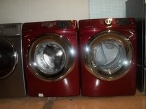 Samsung F-load washer and dryer red in Fort Bragg, North Carolina
