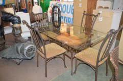 Glass Top Table and 4 Chairs in Tacoma, Washington