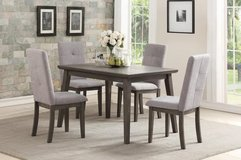 INVENTORY SALE! URBAN 5PC GREY QUALITY DINING SET!:) in Camp Pendleton, California