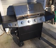 Charbroil 4-Burner Proprane Grill with Warming Rack in Camp Lejeune, North Carolina