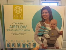 Lille baby 6 in 1 airflow complete baby carrier in anchor print in Schaumburg, Illinois