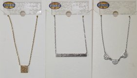 Fossil Brand Necklaces All Brand New in Fort Rucker, Alabama