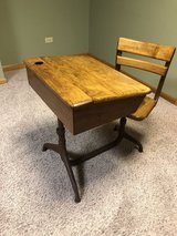 Mid/early - century school desk in Bolingbrook, Illinois