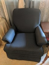 Navy Armchairs in Beaufort, South Carolina