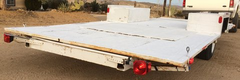 Flat Bed Trailer in Yucca Valley, California