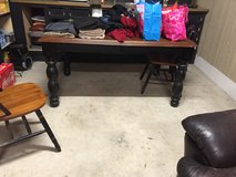 Dining table with leaf & 2 chairs in Beaufort, South Carolina