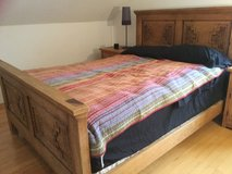 Bed Set, Hand Carved—Queen in Ramstein, Germany
