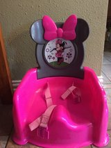 Minnie Mouse booster seat in The Woodlands, Texas