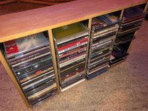 CD Stand / 40+ CDs included in Ramstein, Germany