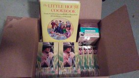 """""""Little House on the Prairie"""" tapes and cookbook (lot 14) in Baytown, Texas"""