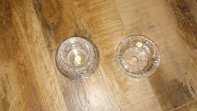 """""""Party Lite"""" glass candle holders in Baytown, Texas"""