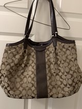 Brown Coach Signature Purse in Kingwood, Texas