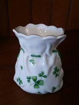 St. Patrick Shamrock China Vase / Bag in Chicago, Illinois