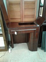 Mid-century Modern Sewing Cabinet with Stool in Camp Lejeune, North Carolina